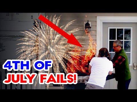 Best Backyard Fireworks 4th of july fails! – firework, bbq and backyard fails 2017 | funny